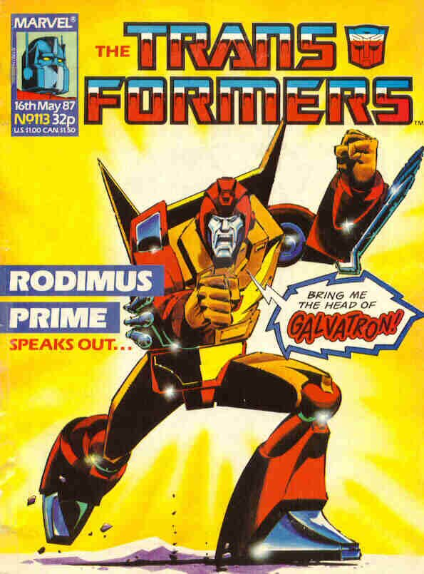 The Transformers #113