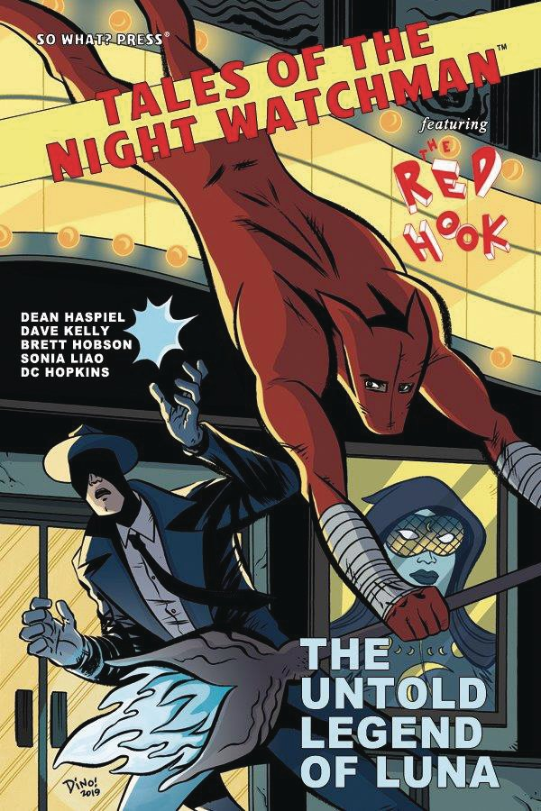 Tales of the Night Watchman Feat. The Red Hook: The Untold Legend Of Luna #1