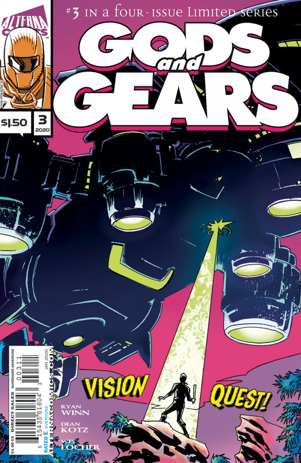 Gods And Gears #3 review