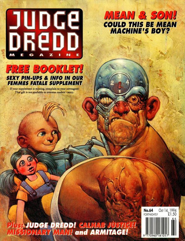 Judge Dredd: The Megazine #64