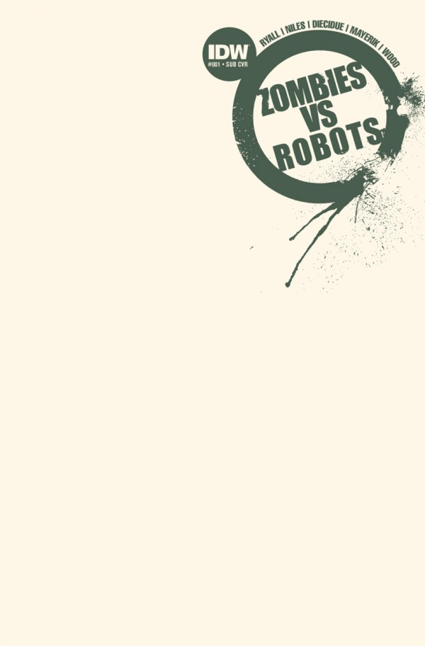 Zombies vs. Robots #1