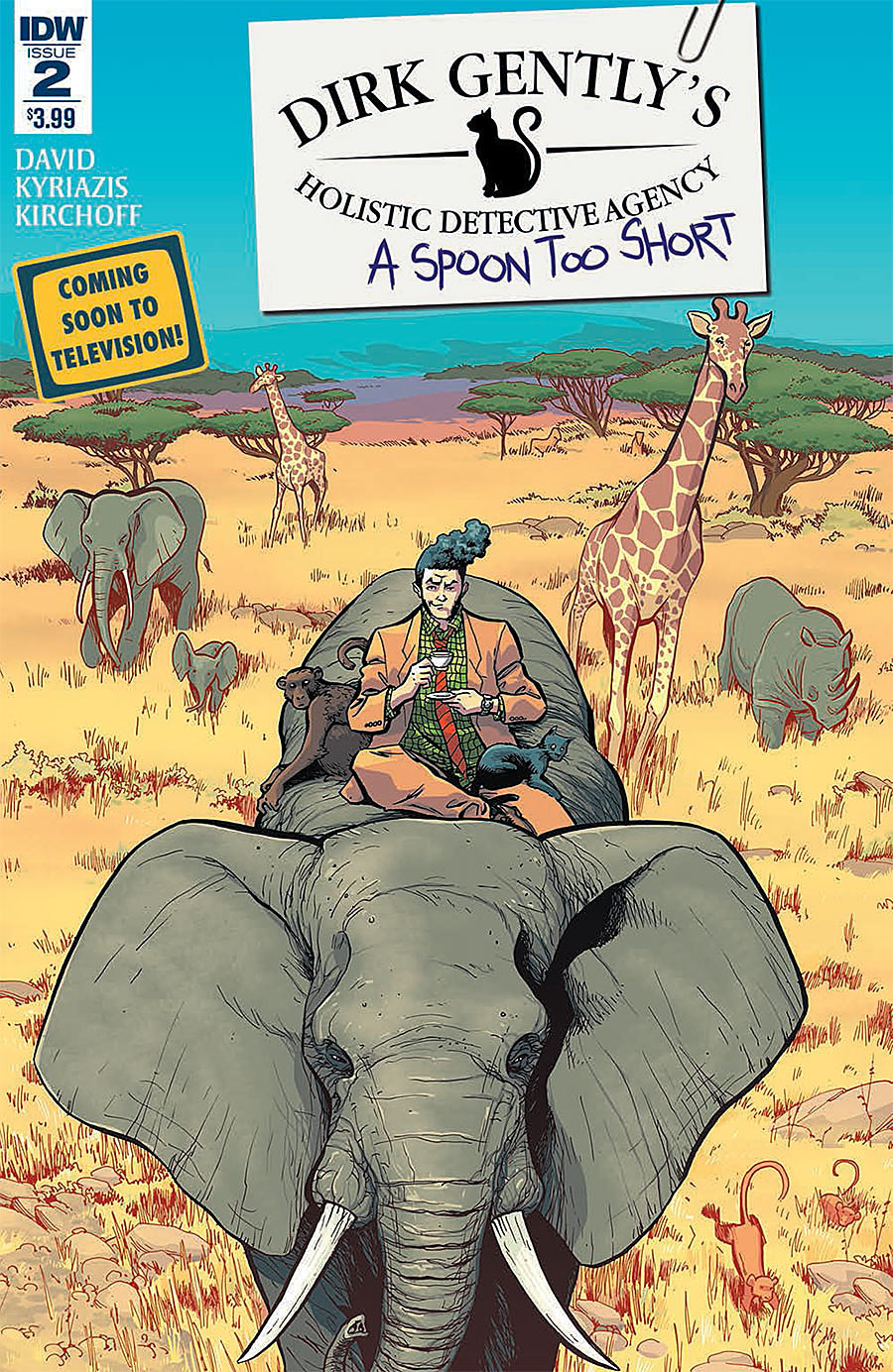 Dirk Gently's Holistic Detective Agency: A Spoon Too Short #2