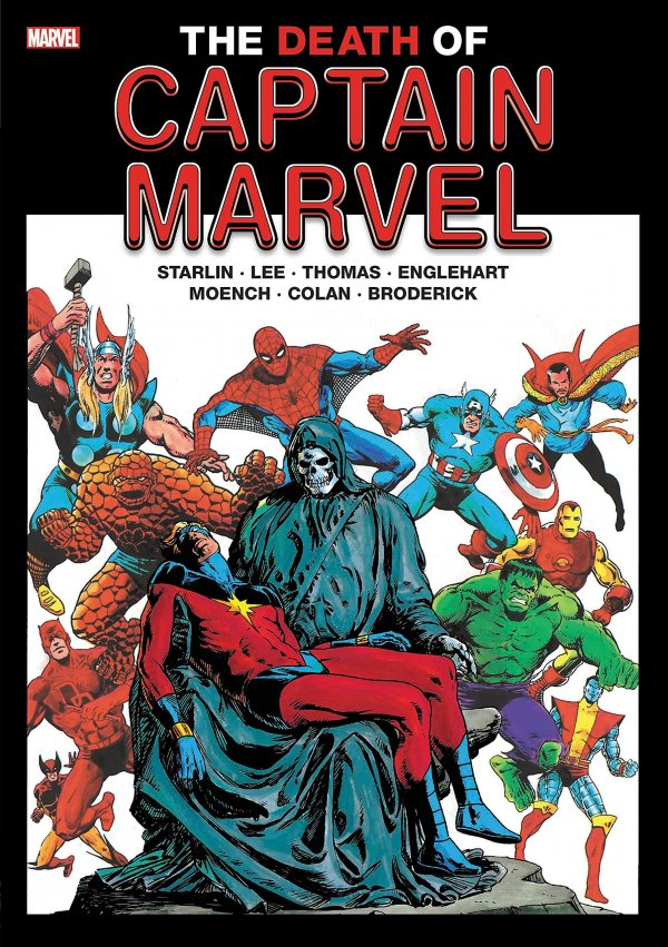 The Death of Captain Marvel Gallery Edition HC