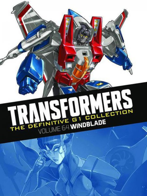 Transformers The Definitive G1 Collection Vol. 064 Windblade