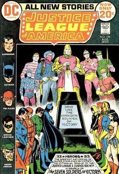 Justice League of America #100