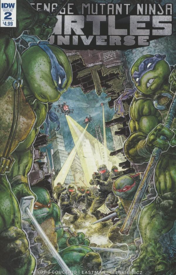 Teenage Mutant Ninja Turtles: Universe #2
