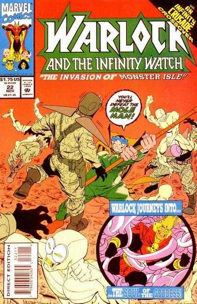 Warlock and the Infinity Watch #22