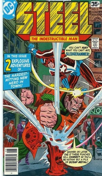 Steel, The Indestructible Man #3 Reviews
