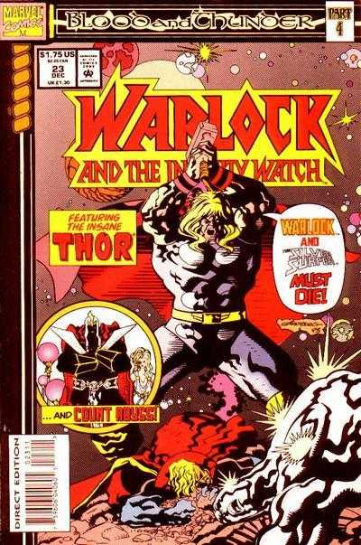 Warlock and the Infinity Watch #23