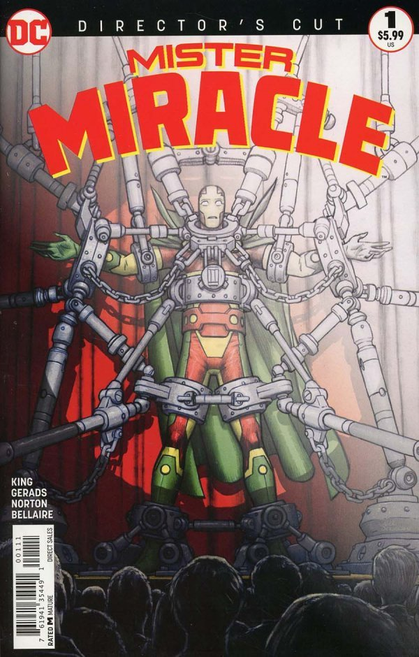 Mister Miracle #1 Director's Cut