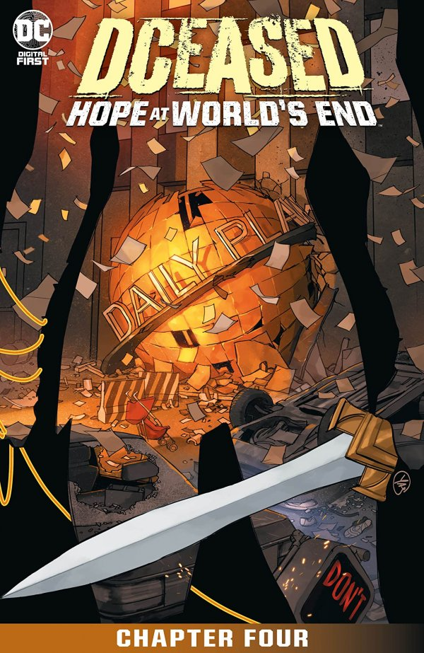 DCeased: Hope At World's End Chapter #4 review