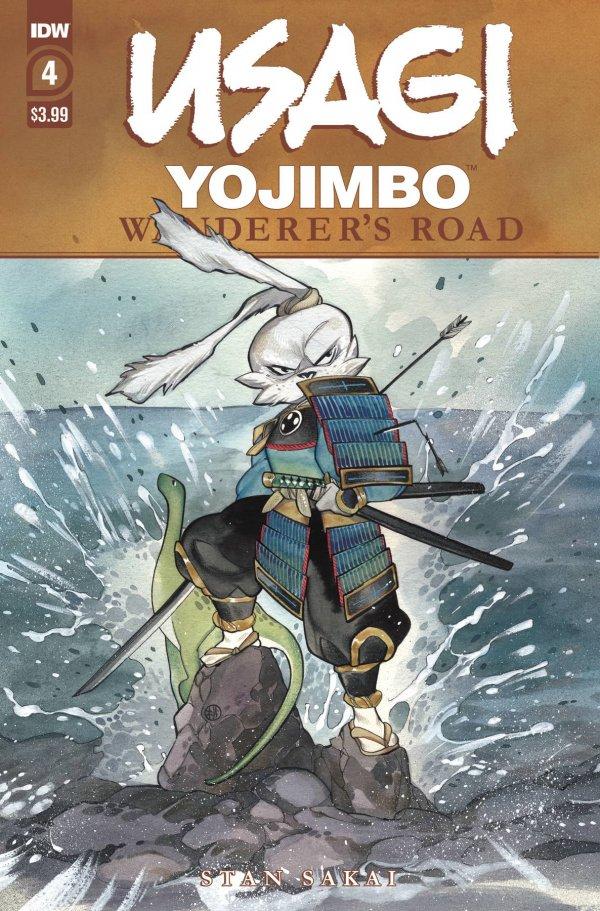 Usagi Yojimbo: Wanderer's Road #4
