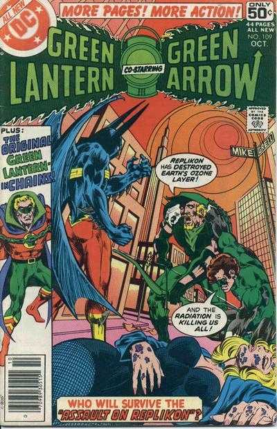 Green Lantern #109