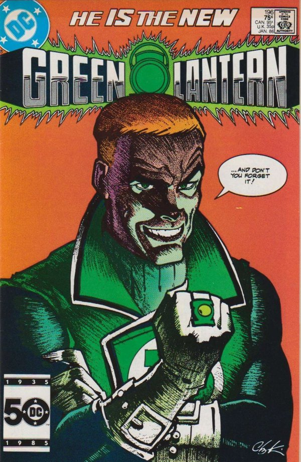 Green Lantern #196