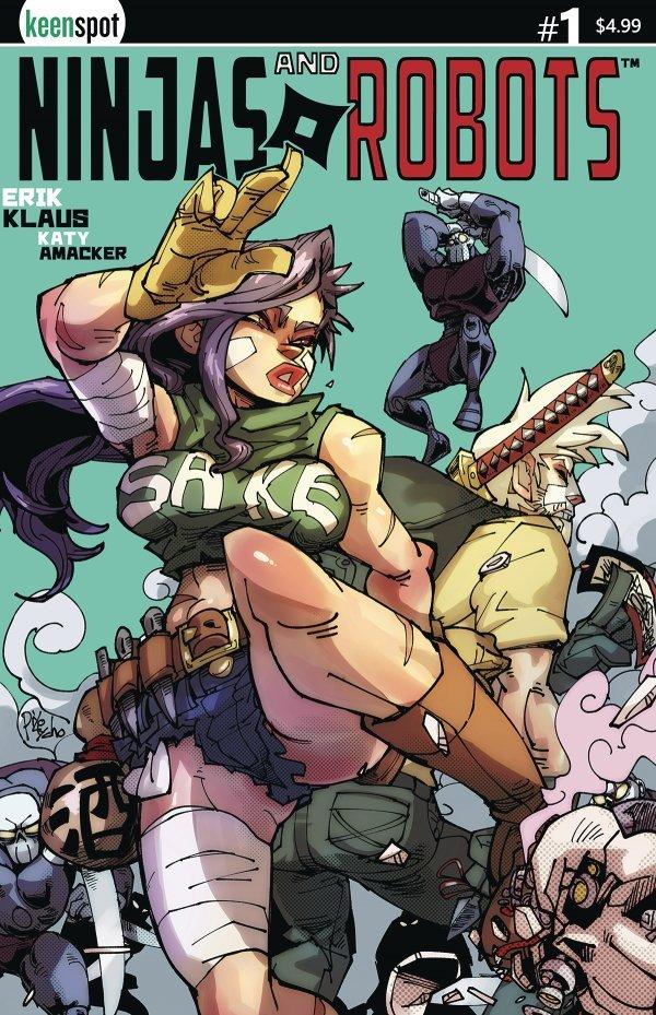 Ninjas & Robots #1