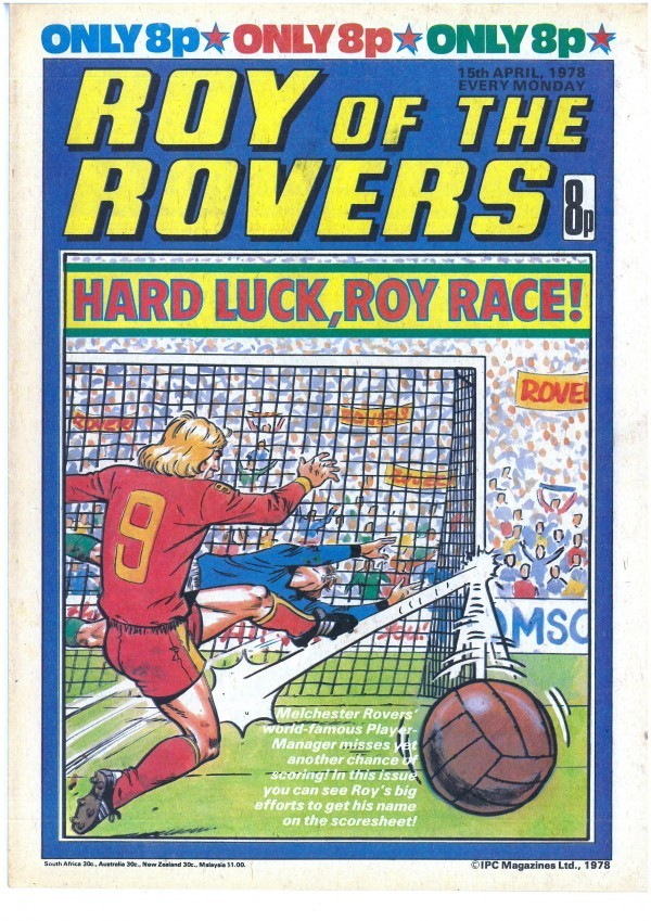 Roy of the Rovers #April 15th, 1978