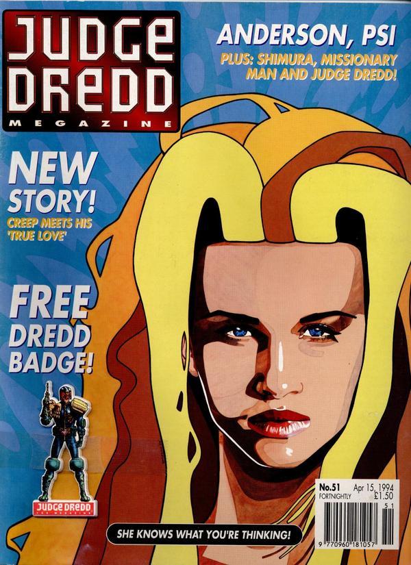 Judge Dredd: The Megazine #51