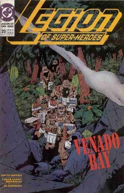 Legion of Super-Heroes #20