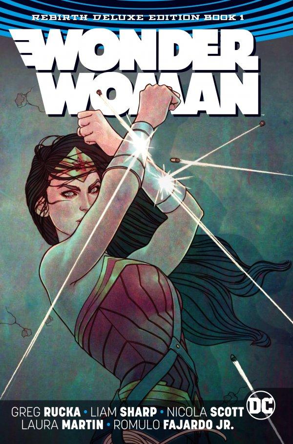 Wonder Woman: Rebirth Deluxe Edition Book 1 HC