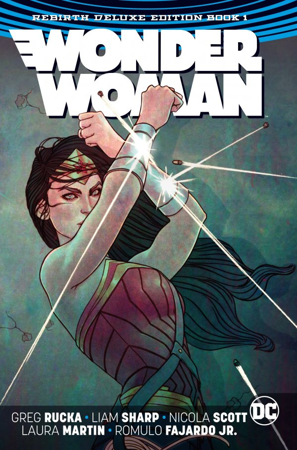 Wonder Woman: The Rebirth Deluxe Edition Book 1 HC