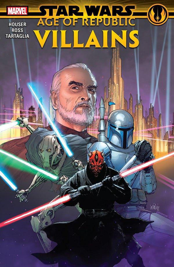 Star Wars: Age of Republic - Villains TP