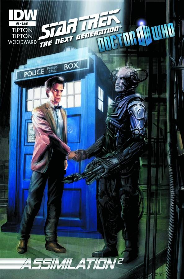 Star Trek: The Next Generation/Doctor Who: Assimilation2 #6