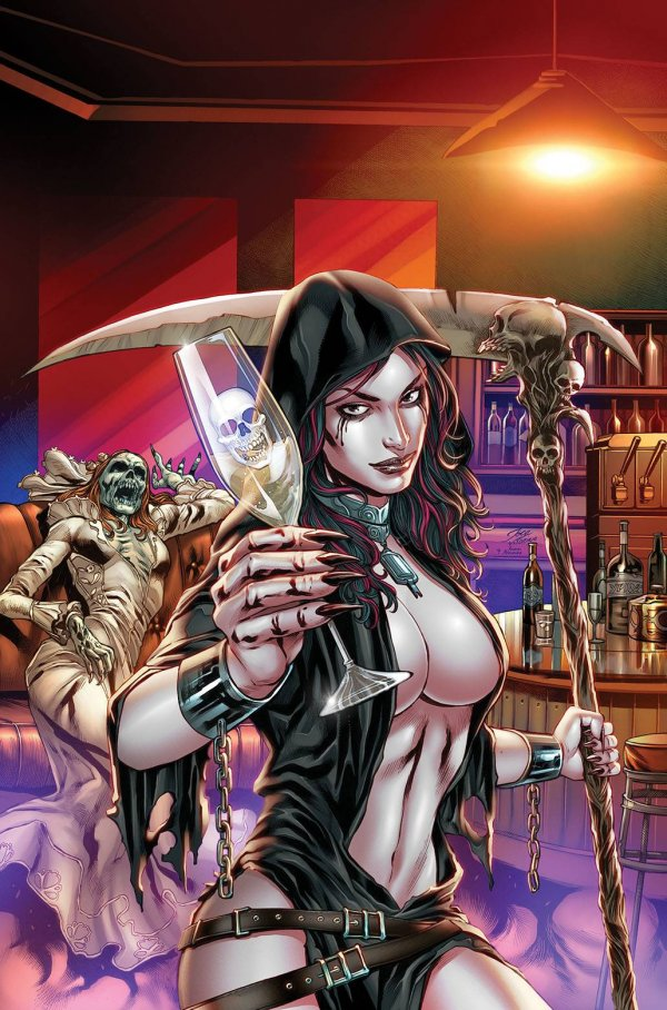 Grimm Tales of Terror: The Bachelorette Party #1