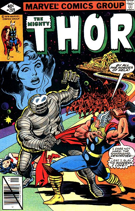 The Mighty Thor #289
