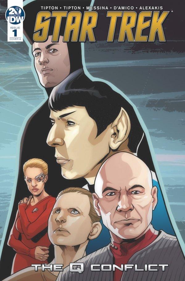 Star Trek: The Q Conflict #1