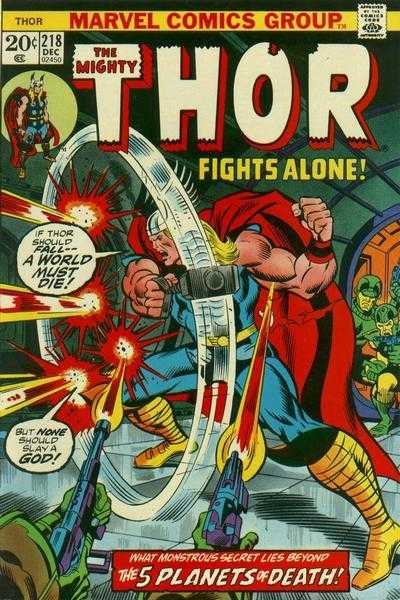 The Mighty Thor #218