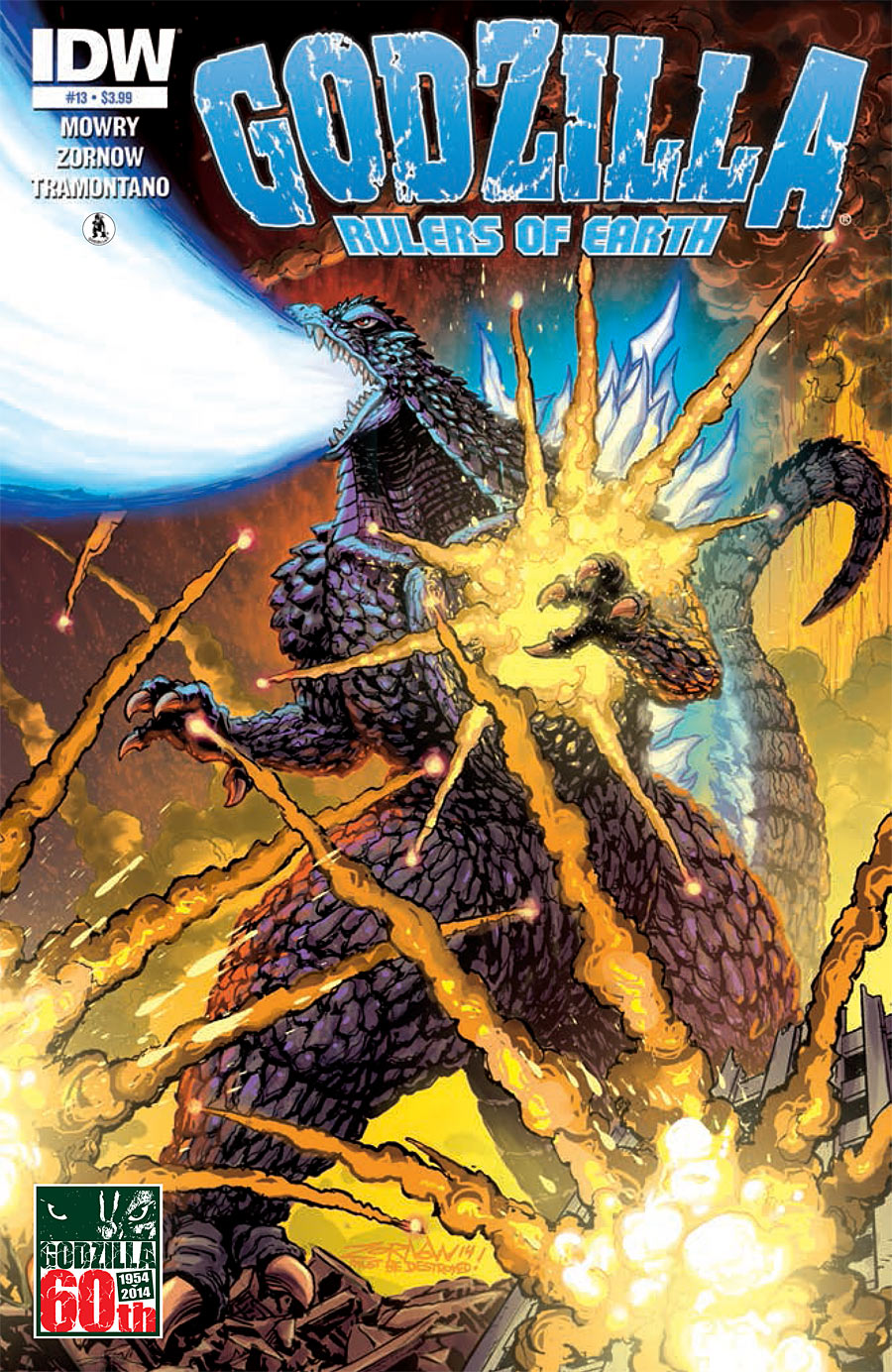 Godzilla: Rulers of Earth #13