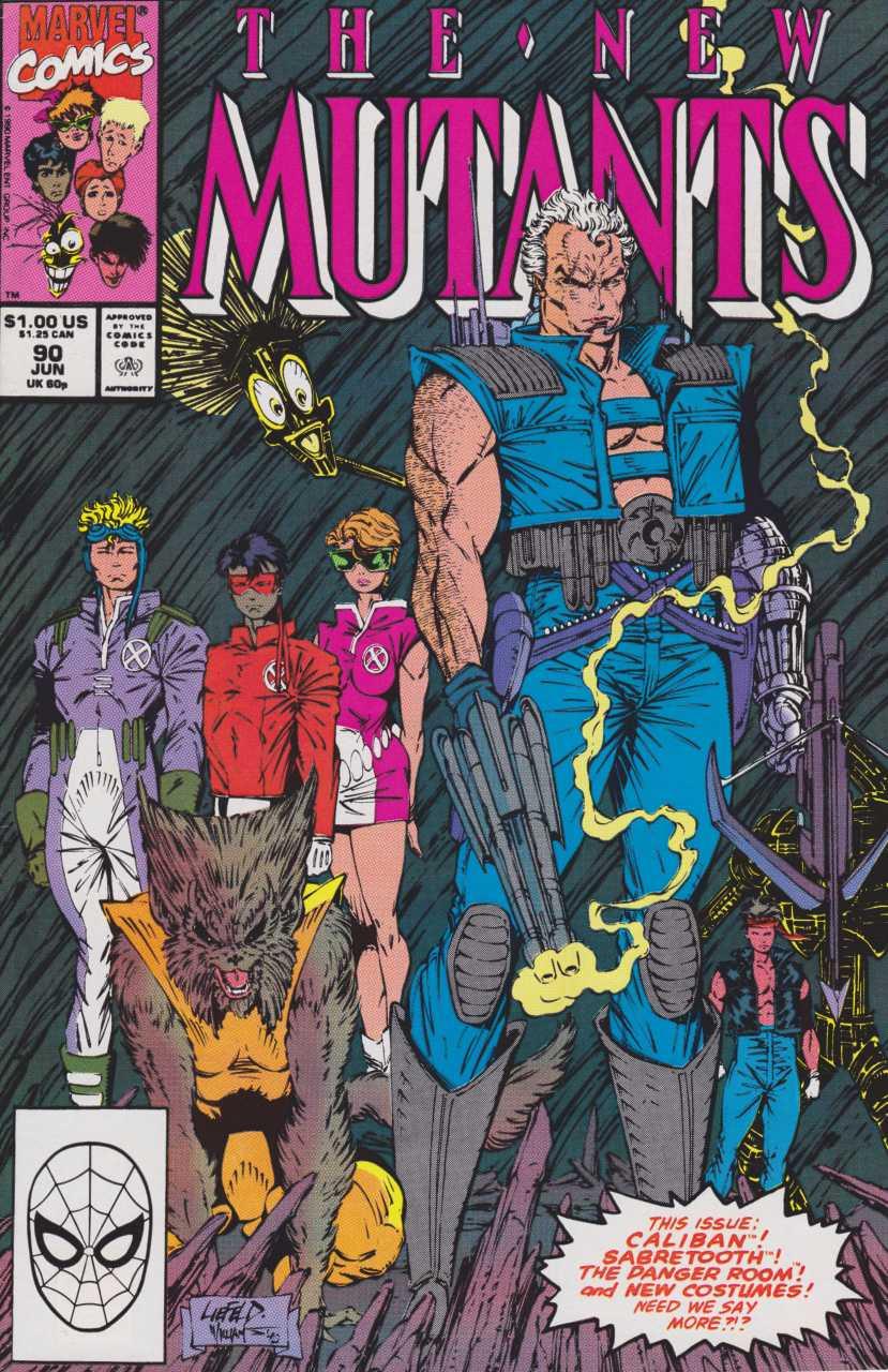 The New Mutants #90