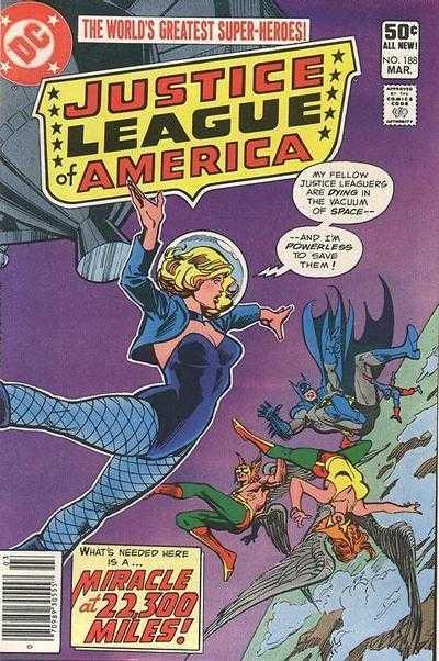 Justice League of America #188
