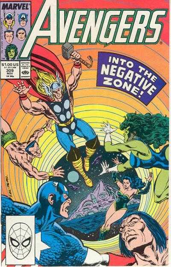 The Avengers #309
