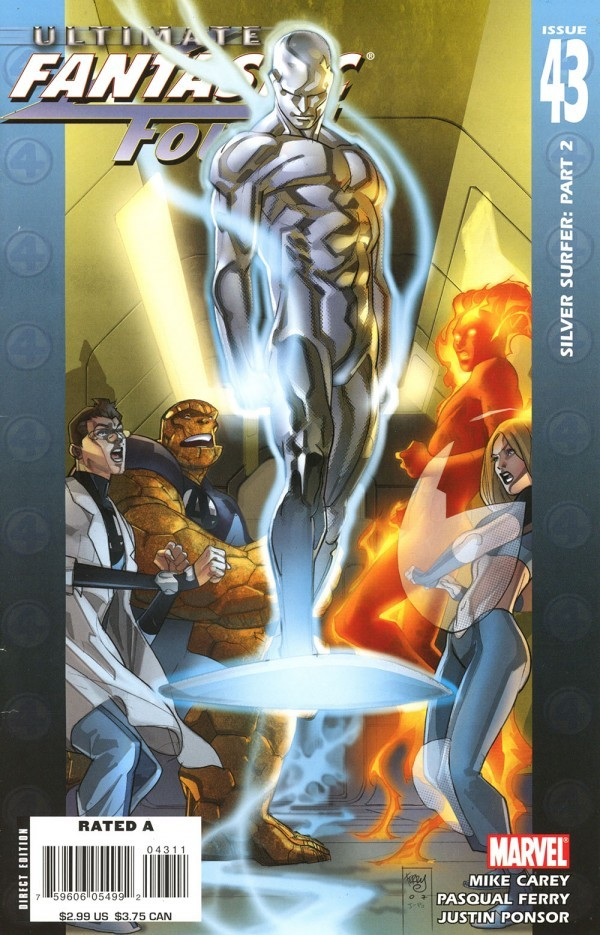 Ultimate Fantastic Four #43