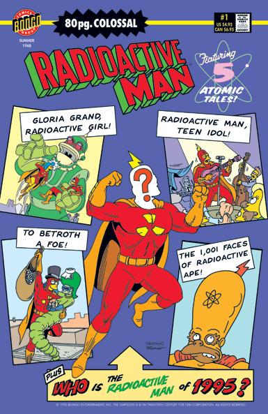 Radioactive Man 80-Page Colossal #1