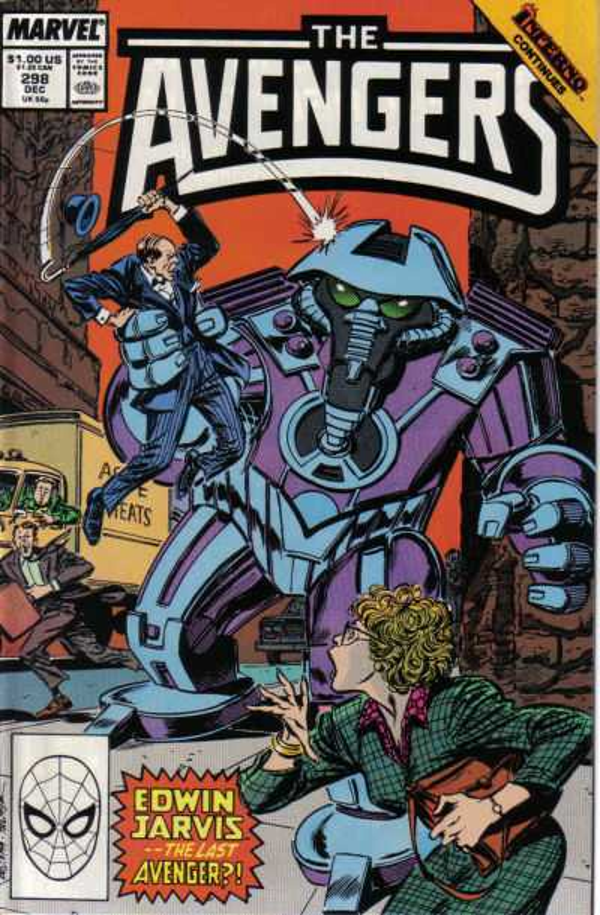 The Avengers #298