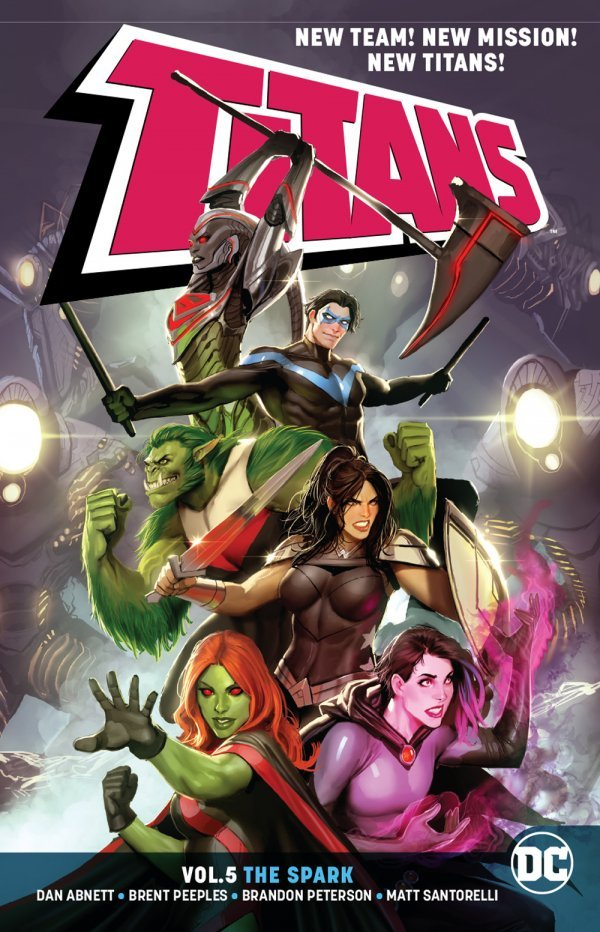 Titans Vol. 5: The Spark TP