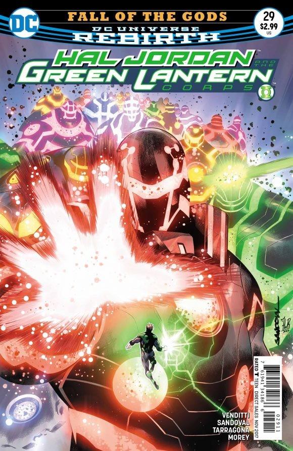 Hal Jordan and the Green Lantern Corps #29