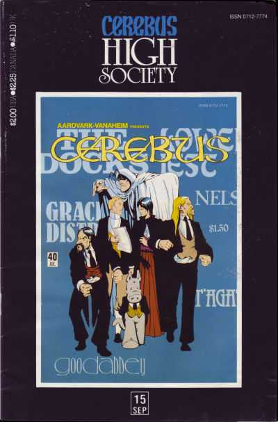 Cerebus High Society #15