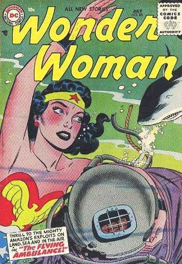Wonder Woman #83