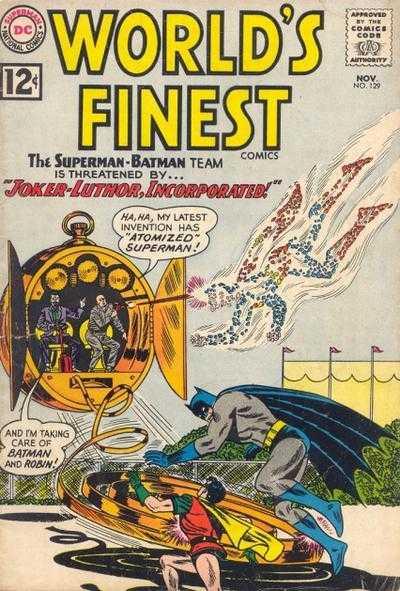 World's Finest Comics #129