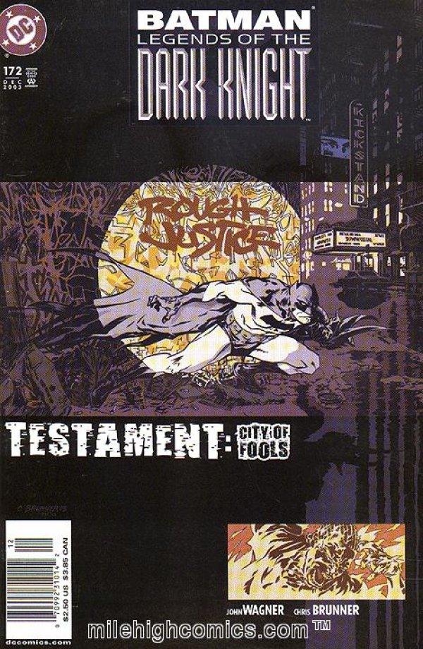 Batman: Legends of the Dark Knight #172