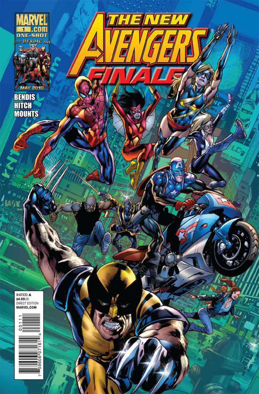 The New Avengers Finale #1