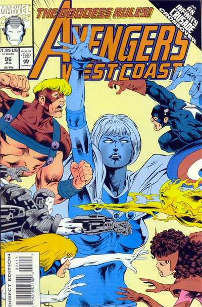 Avengers West Coast #96