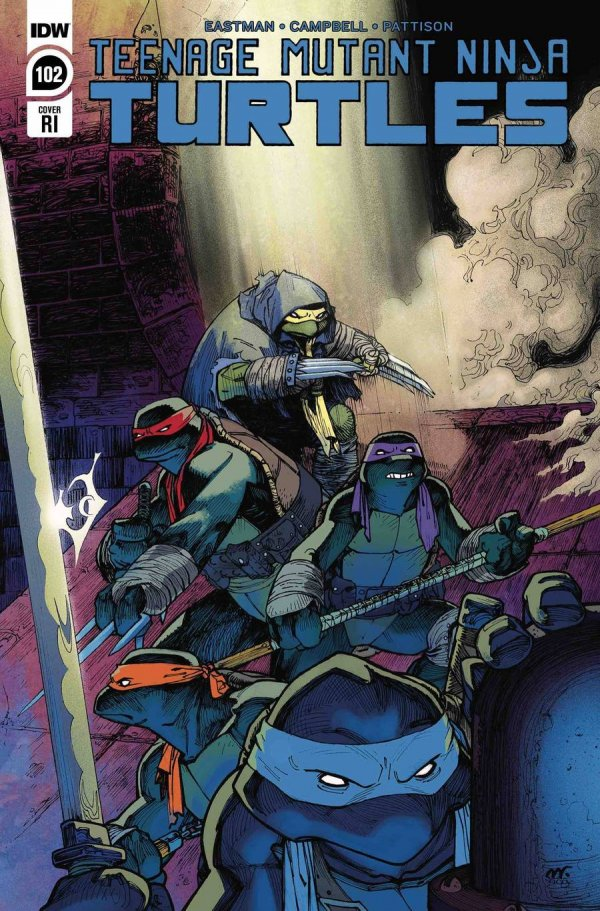 Teenage Mutant Ninja Turtles #102