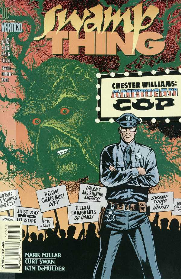 The Saga of the Swamp Thing #165