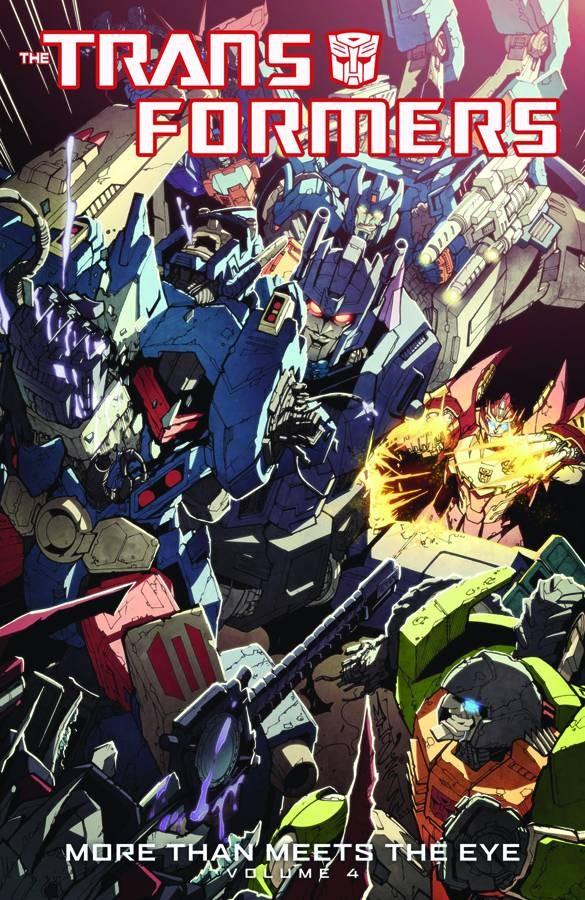 Transformers: More Than Meets the Eye Vol. 4 TP