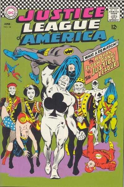 Justice League of America #54