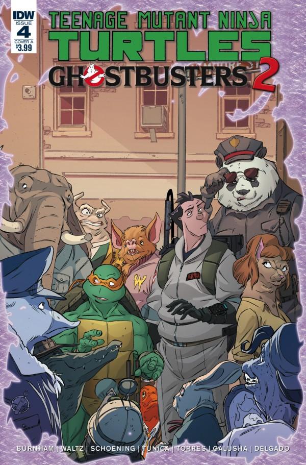 Teenage Mutant Ninja Turtles / Ghostbusters 2 #4